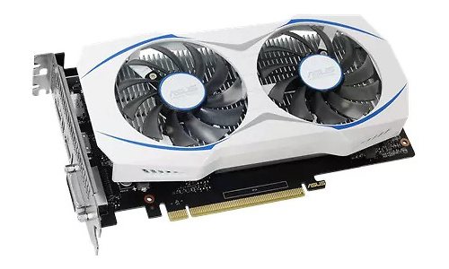 Asus GeForce GTX 1050 Dual 2GB