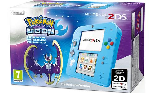 Nintendo 2DS + Pokémon Moon