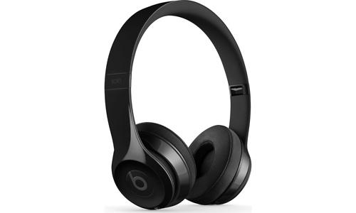 Beats By Dr Dre Solo 3 Wireless Bluetooth Headphones Gloss Black
