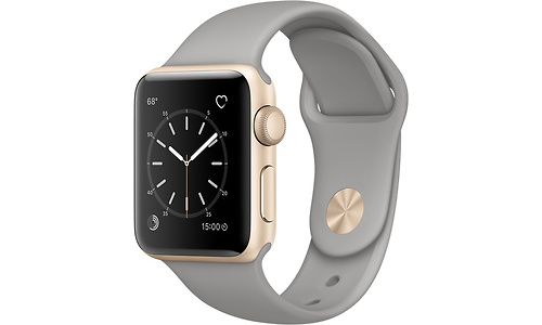 Apple Watch Series 1 38mm Gold Sport Band Grey