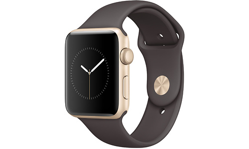 Apple Watch Series 1 42mm Gold Sport Band cacao