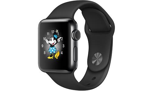 Apple Watch Series 2 38mm Space Black Sport Band Black