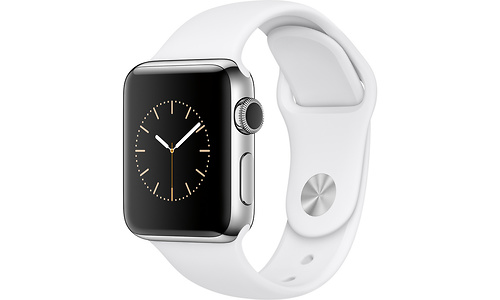 Apple Watch Series 2 42mm Silver Sport Band White