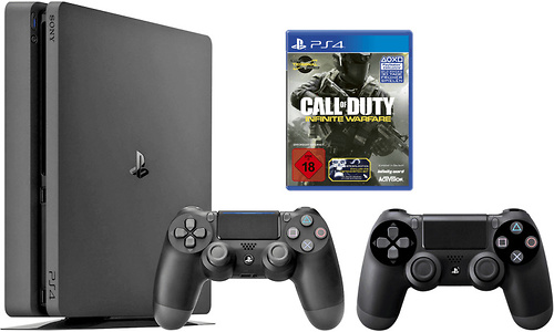 Sony PlayStation 4 Slim 1TB + Infinite Warfare 2