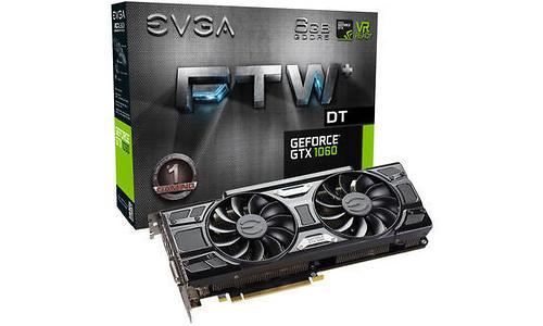 EVGA GeForce GTX 1060 FTW+ DT Gaming 6GB