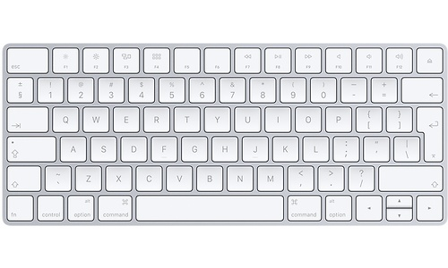 Apple Magic Keyboard White/Silver (BE)