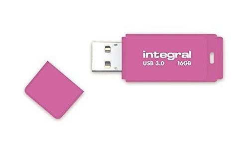 Integral Neon 16GB Pink (USB 3.0)