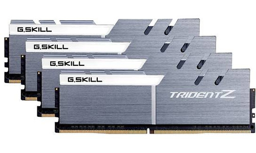 G.Skill Trident Z White/Silver 32GB DDR4-3300 CL16 quad kit