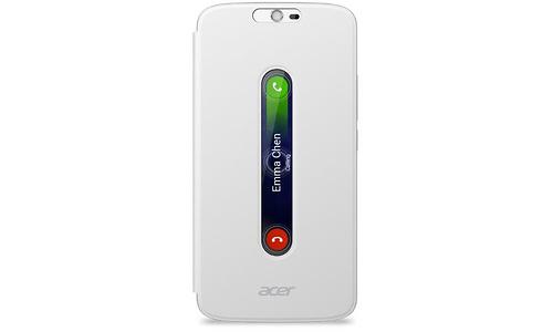 Acer Zest Plus Active Flip Cover White