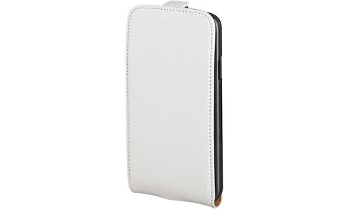 Hama iPhone Flip Case White
