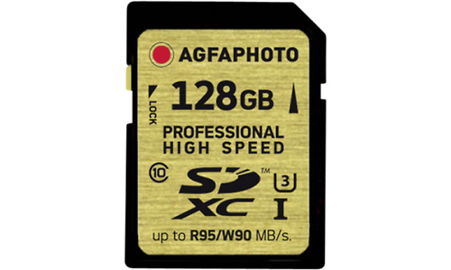 AgfaPhoto Professional High Speed SDXC UHS-I U3 128GB