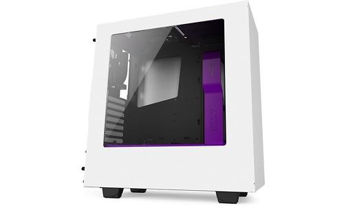 NZXT Source S340 White/Purple