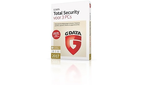 G Data Total Security 2017 3-user (NL)