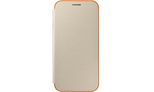 Samsung Galaxy A5 2017 Neon Flip Cover Gold