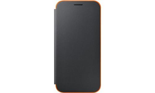 Samsung Galaxy A5 2017 Neon Flip Cover Black