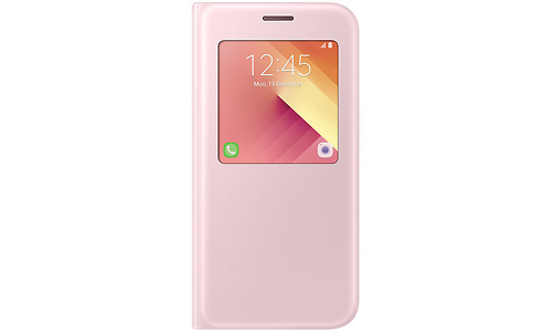 Samsung Galaxy A5 2017 S-View Stand Cover Pink