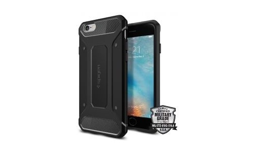 Spigen Rugged Armor Apple iPhone 6 / 6s Case Black
