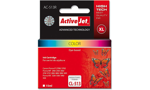 ActiveJet AC-513R Color