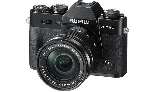 Fujifilm FinePix X-T20 16-50 kit Black