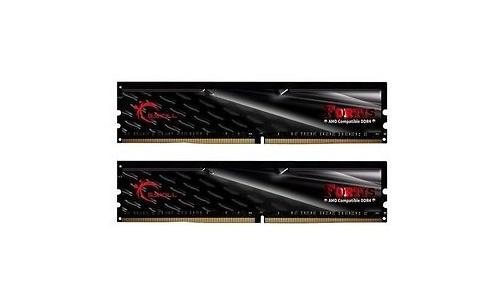 G.Skill Fortis Black/Red 16GB DDR4-2400 CL15 kit