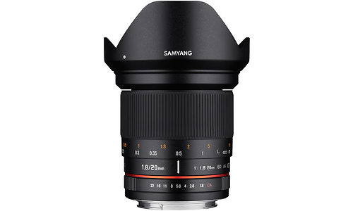 Samyang 20mm f/1.8 ED AS UMC Sony