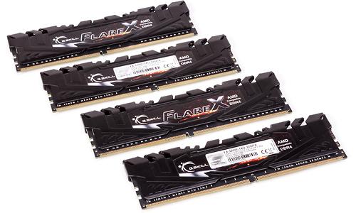 G.Skill Flare X 32GB DDR4-3200 CL14 quad kit