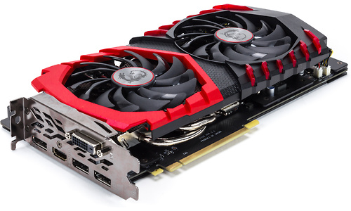 MSI GeForce GTX 1060 Gaming X+ 6GB (1785MHz Boost)