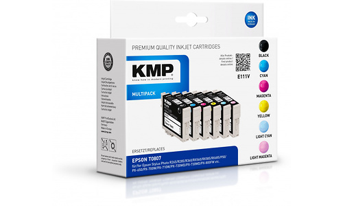 KMP Multi Pack E111V Black + Color