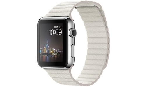 Apple Watch 42mm White Large