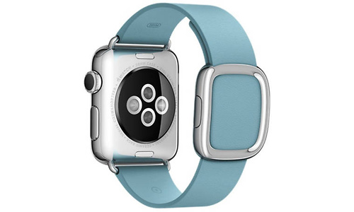 Apple Watch 38mm Medium White/Blue