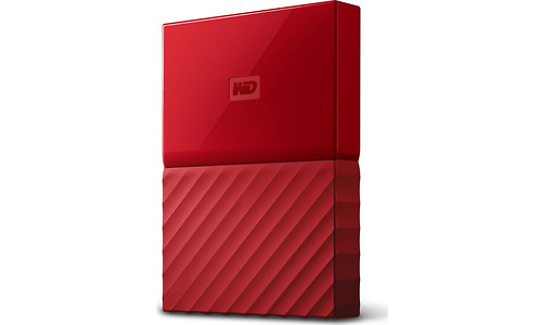 Western Digital My Passport Portable 2TB Red