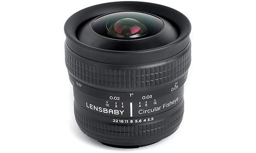 Lensbaby 5.8mm f/3.5 Circular Fisheye (Pentax)