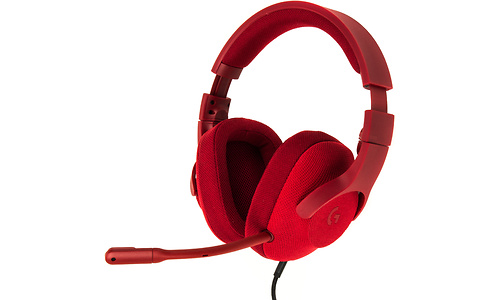 Logitech G433 Gaming Red