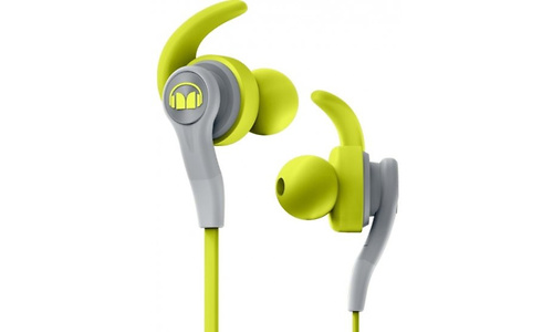 Monster Cable iSport Compete In-Ear Green