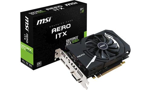 MSI GeForce GTX 1050 Ti Aero ITX OC V1 4GB