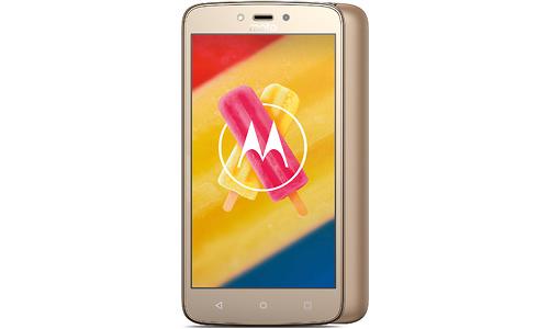 Motorola Moto C Plus 16GB Gold