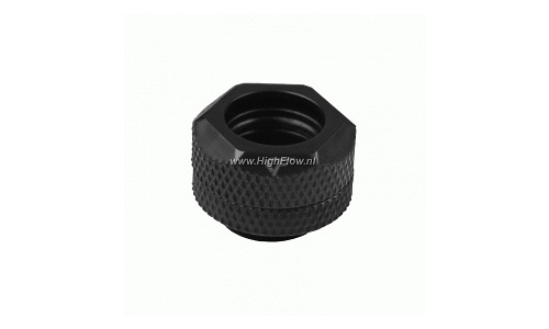 "Nanoxia Coolforce Fitting Hard Tube Adapte G1/4"" 12mm Black"