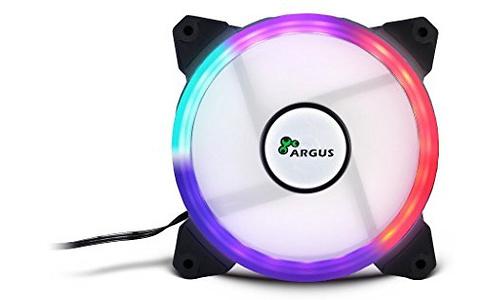 Inter-Tech Argus RS01 RGB 120mm Black/Transparent