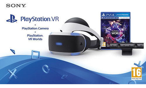 Sony PlayStation VR + VR Worlds + PS Camera