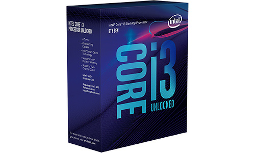 Intel Core i3 8350K Boxed