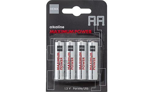 HEMA Alkaline Maximum Power AA