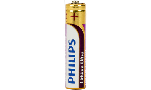 Philips Lithium Ultra AAA