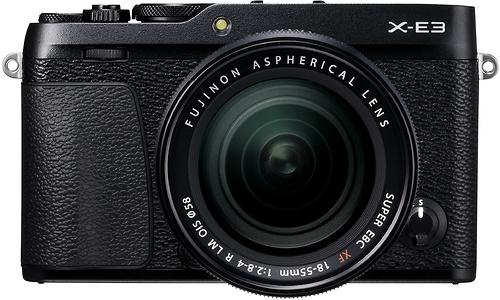 Fujifilm X-E3 18-55 kit Black