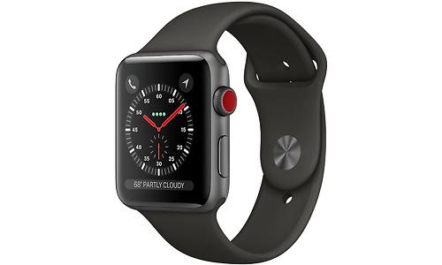 Apple Watch Series 3 42mm Aluminium Space Grey + Sport Loop Grey