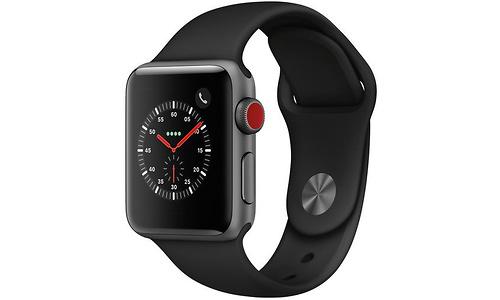 Apple Watch Series 3 38mm Aluminuim Space Grey + Sport Loop Grey