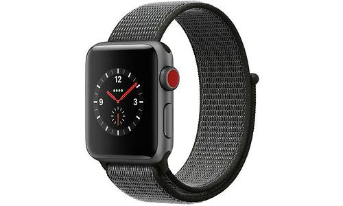 Apple Watch Series 3 38mm Aluminuim Space Grey + Sport Loop Dark Olive
