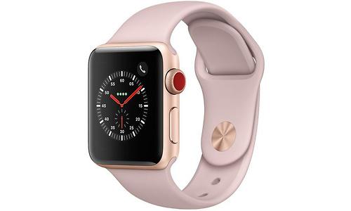 Apple Watch Series 3 38mm Aluminuim Gold + Sport Loop Sandrosa