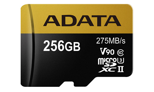 Adata Premier One MicroSDXC UHS-II U3 V90 256GB