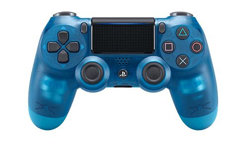 Sony PS4 DualShock controller V2 Crystal Blue