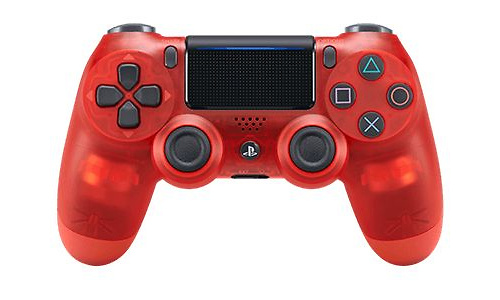 Sony PS4 DualShock controller V2 Crystal Red
